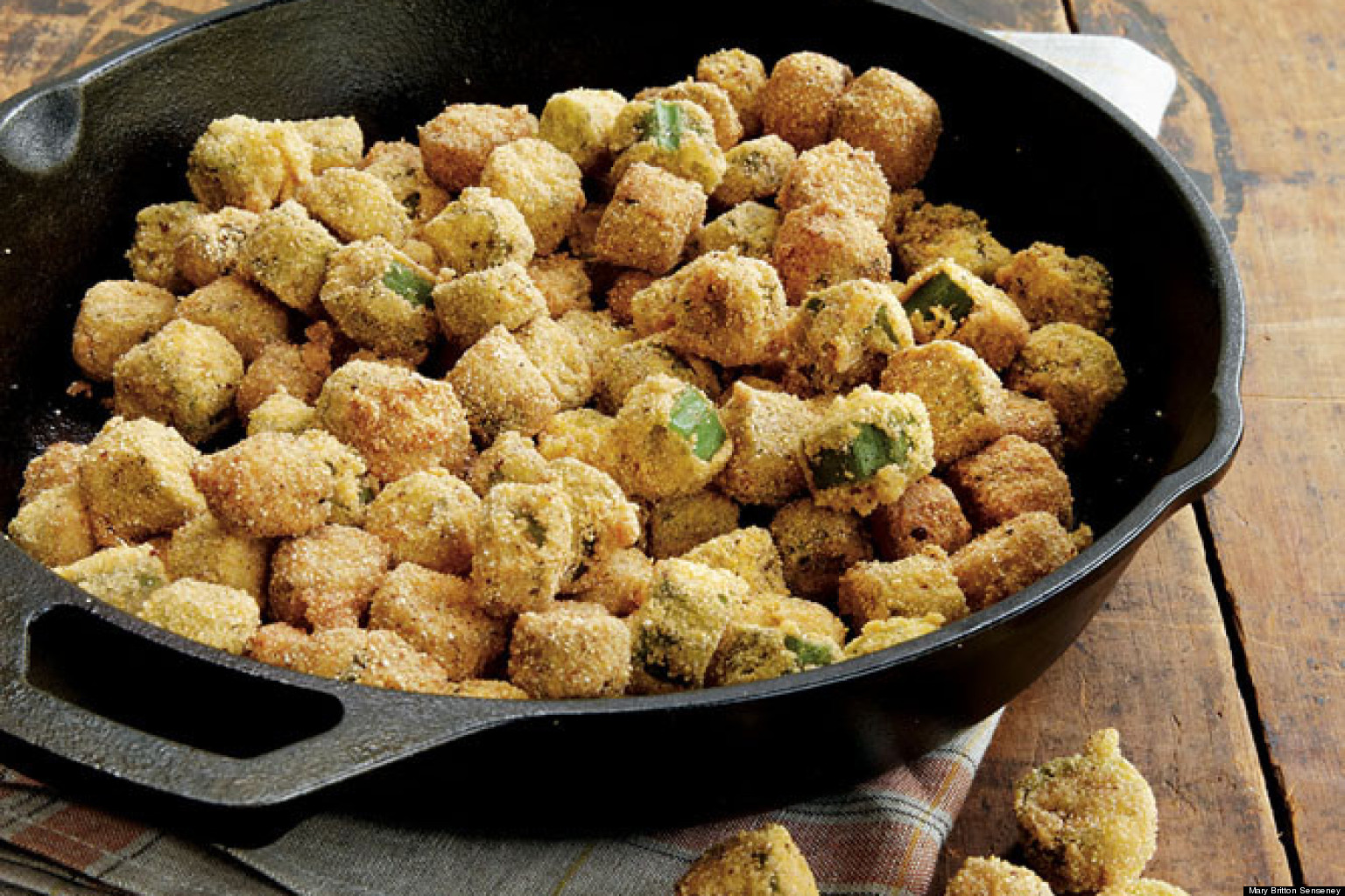 Recipe Of The Day: Fried Okra | HuffPost