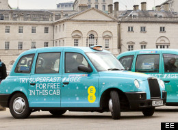 PICS: '4G Enabled' Black Cabs Launched In London