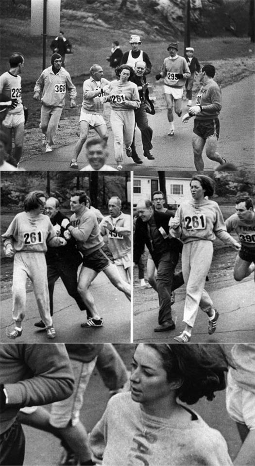 Kathrine Switzer Marathon Photo
