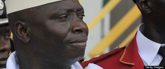 Yahya Jammeh Homosexuals