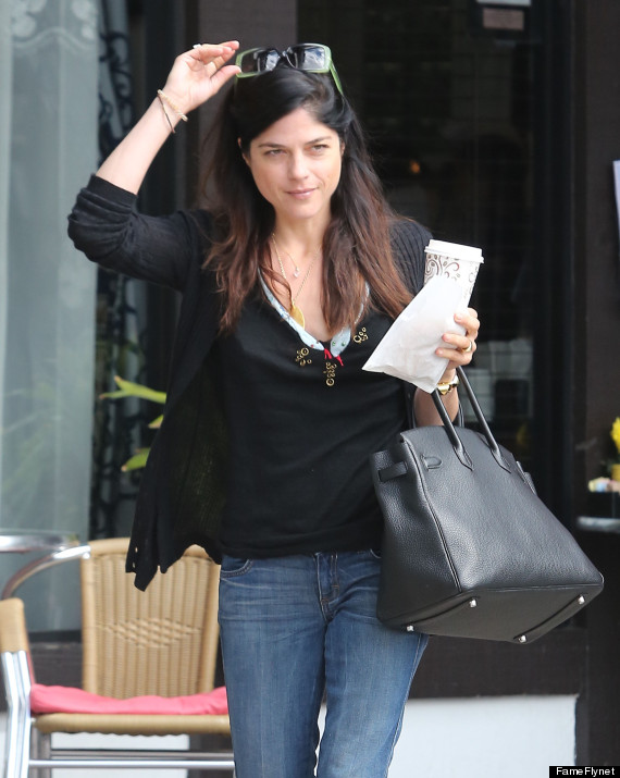 selma blair no makeup