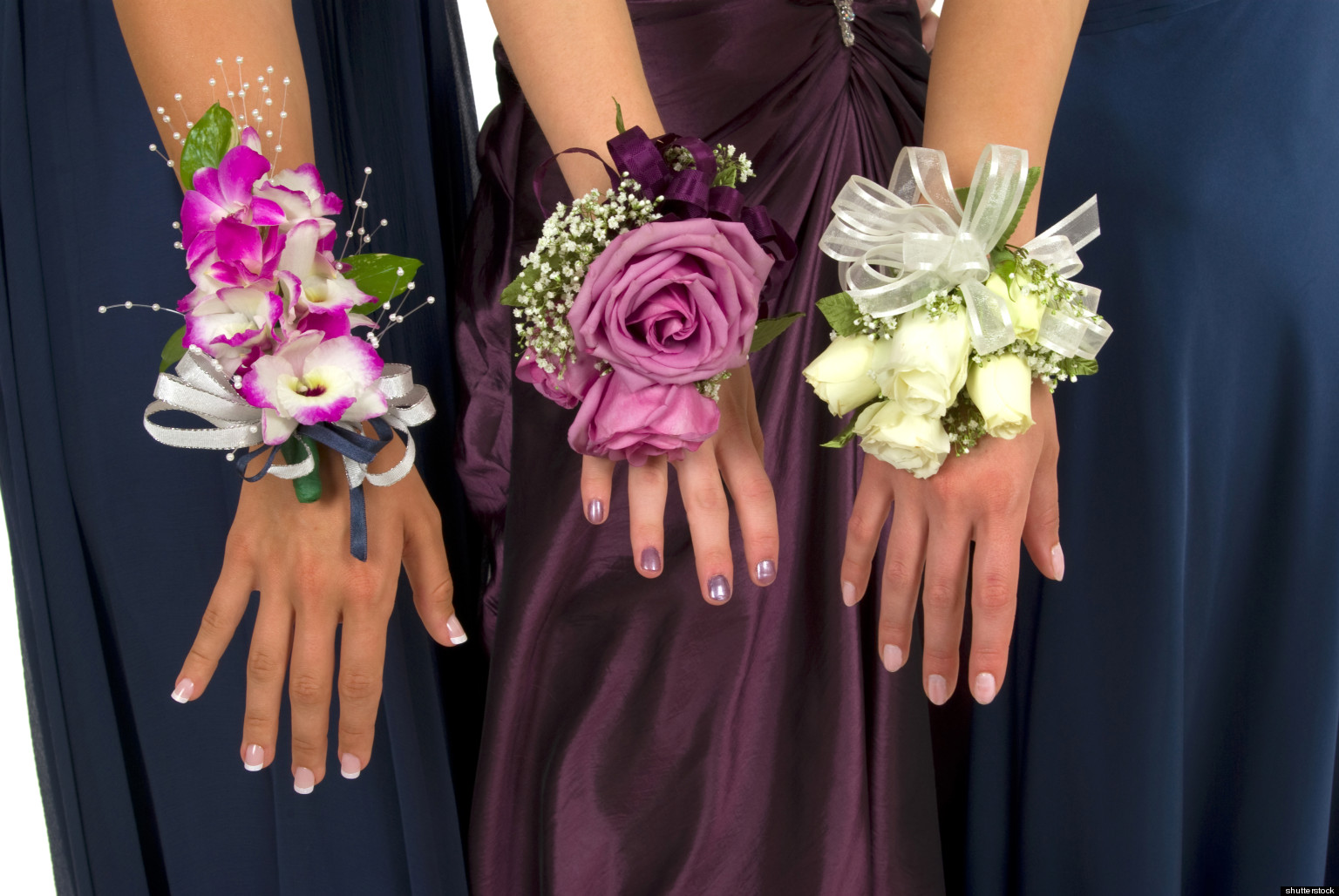 Prom Flowers Wrist Corsages Ideas