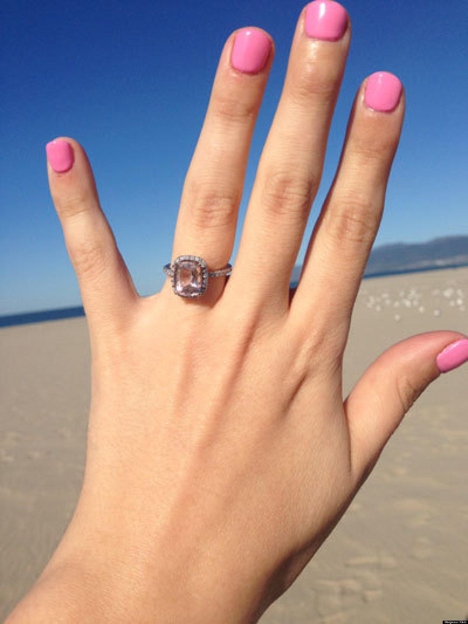 In Praise Morganite Engagement Rings