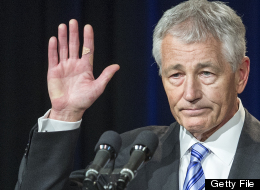 Chuck Hagel Pay Cut