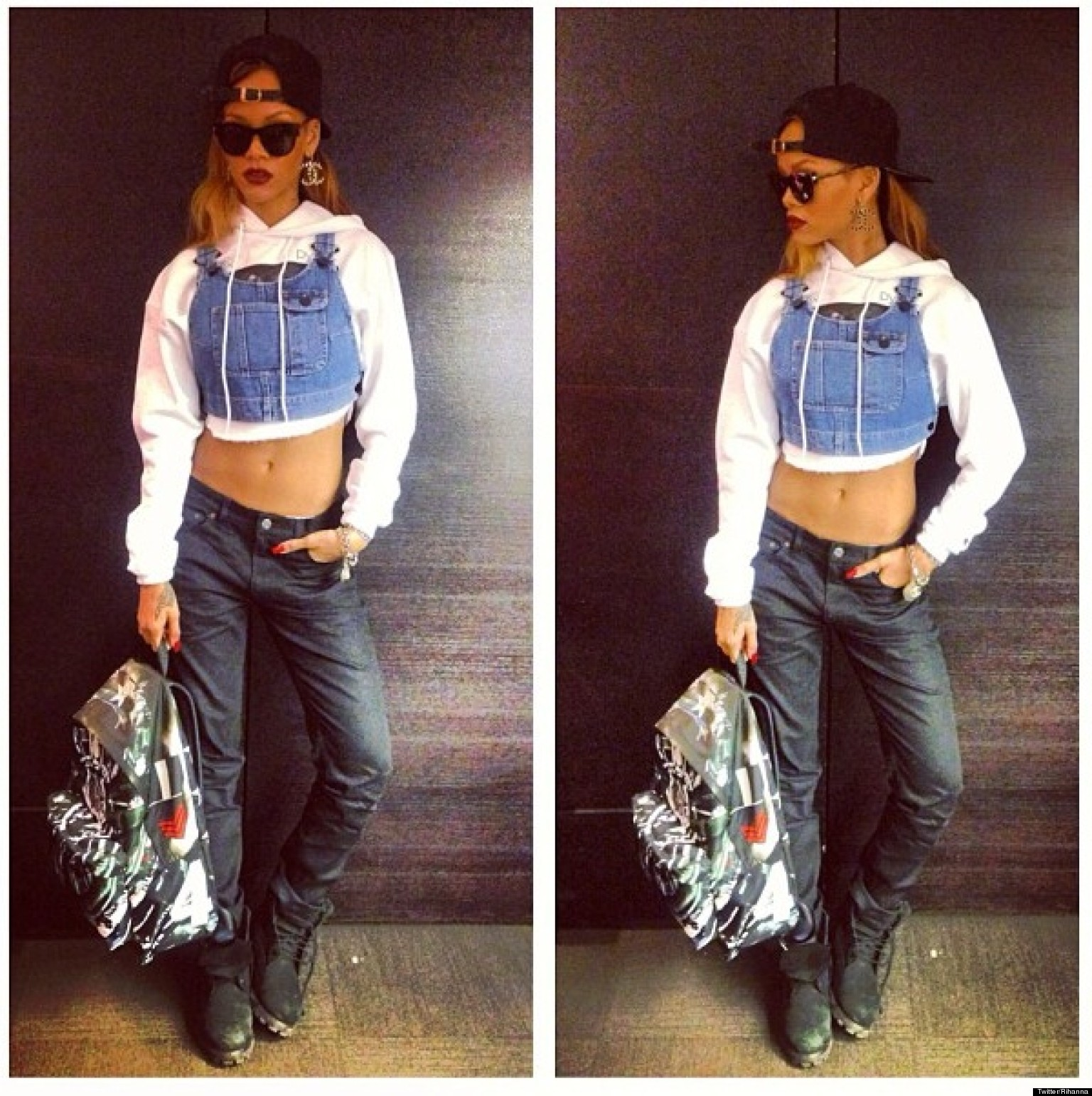 Rihanna Is 'Rockin' Dat' For River Island