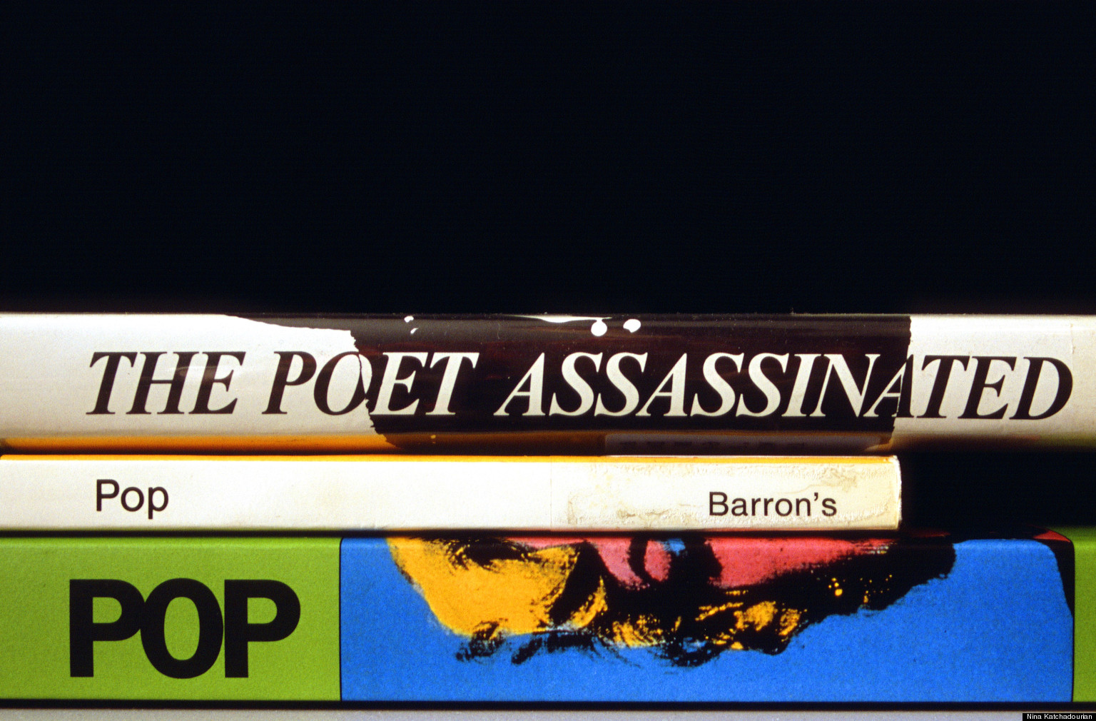 PHOTOS: Stunning Book Spine Poetry