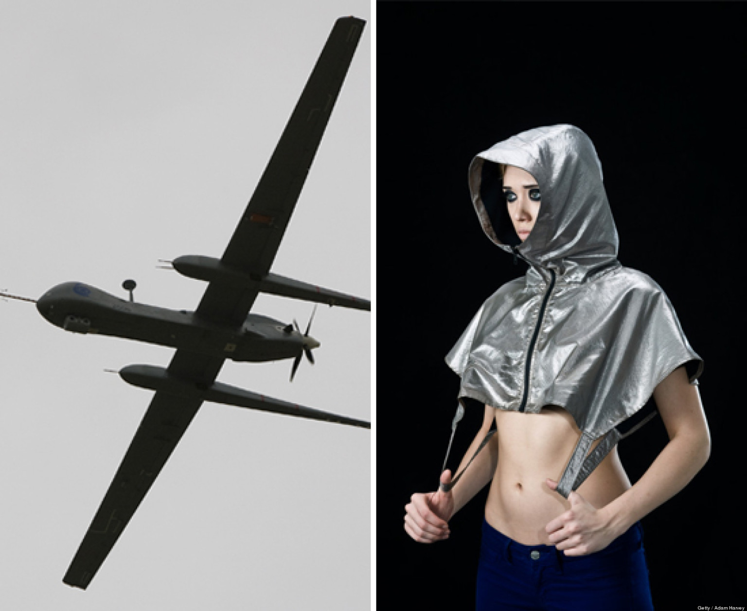 39;Anti-Drone' Hoodie By Adam Harvey Is Your Ready-To-Wear Counter-Surveillance Solution