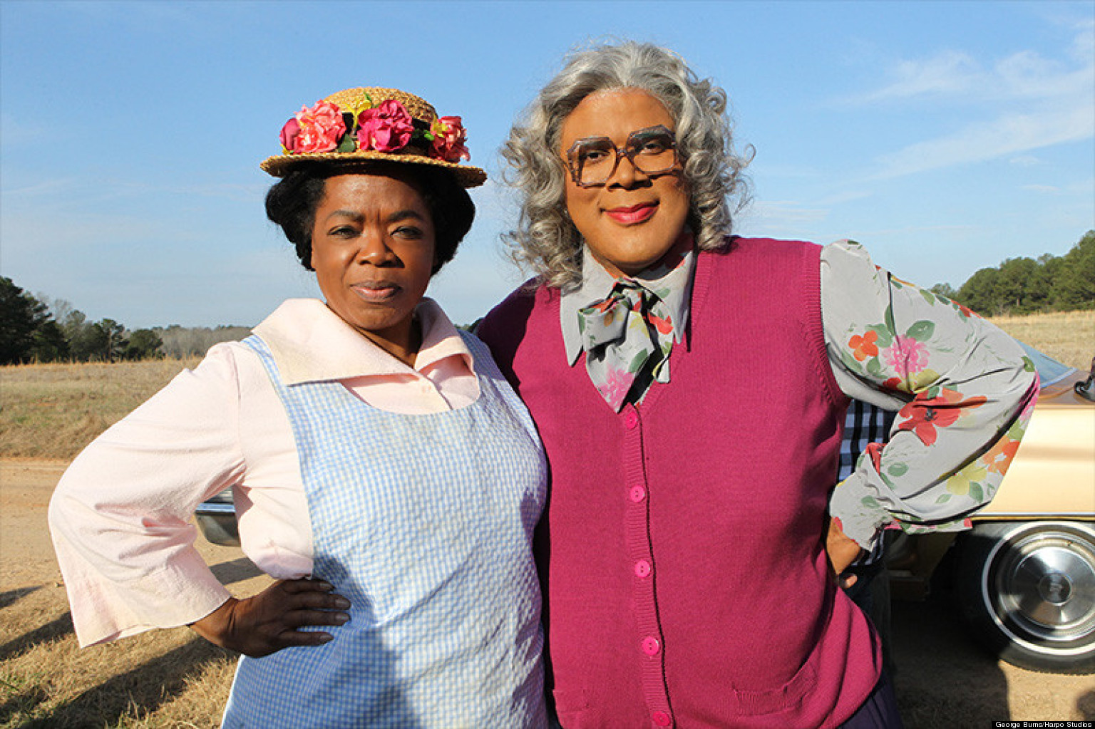 Madea and sofia parody oprah and tyler perry s alter egos team up to