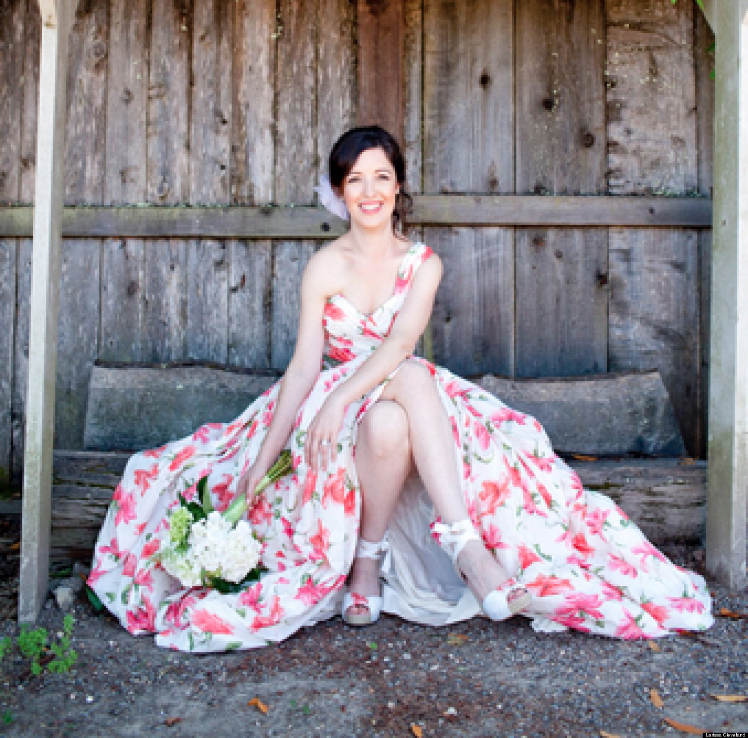 Offbeat & On-Trend: The Non-White Wedding Gown