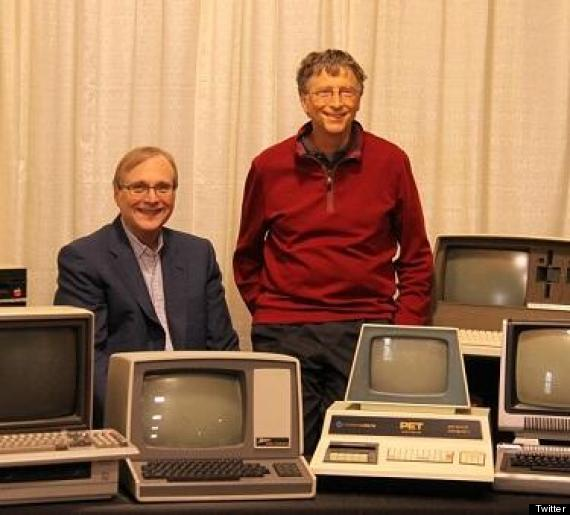 bill gate paul allen