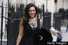 The Most Glamorous Girl In Town! Kelly Brook Steps Out In LBD