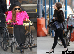 Gaga's Back On Her Feet (And In Heels)