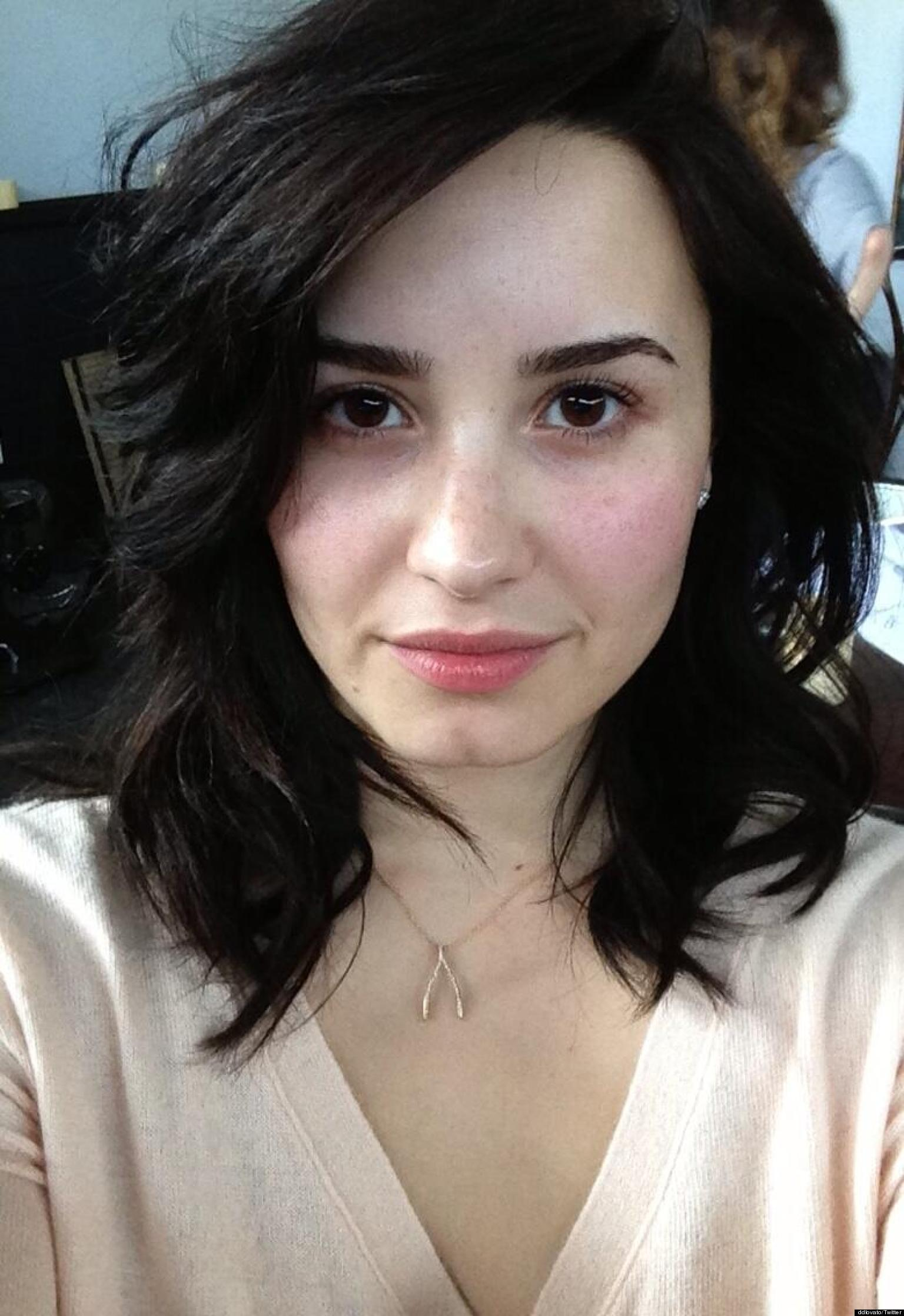 Demi Lovato No Makeup: Singer Tweets Fans To 'Stop Using
