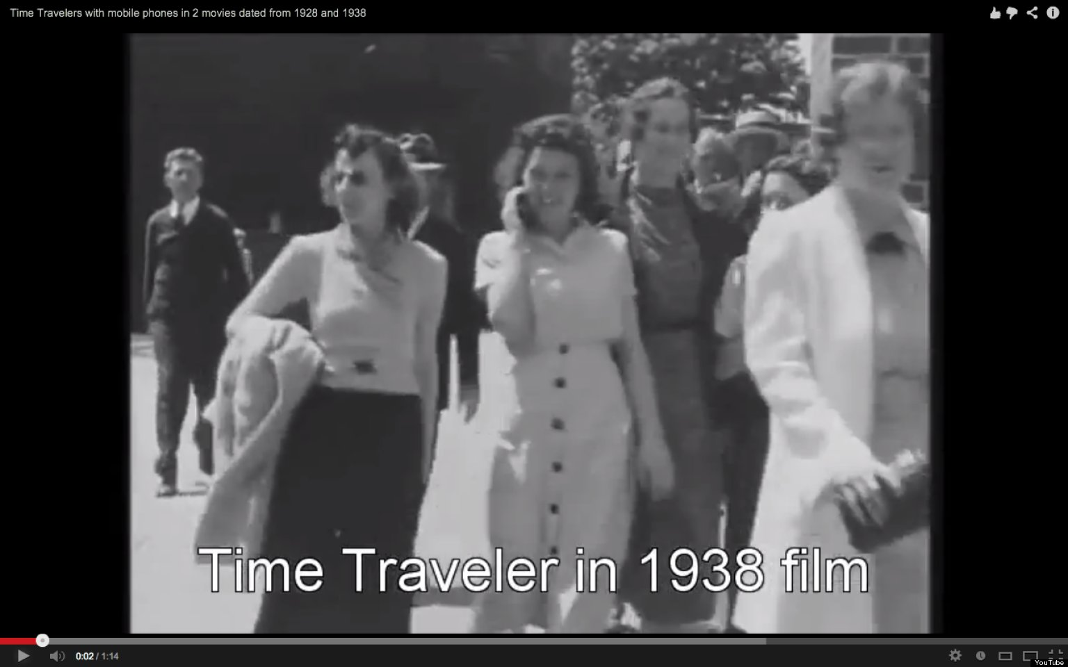 Mystery Of 1938 39;Time Traveler39; With Cell Phone Solved? VIDEO
