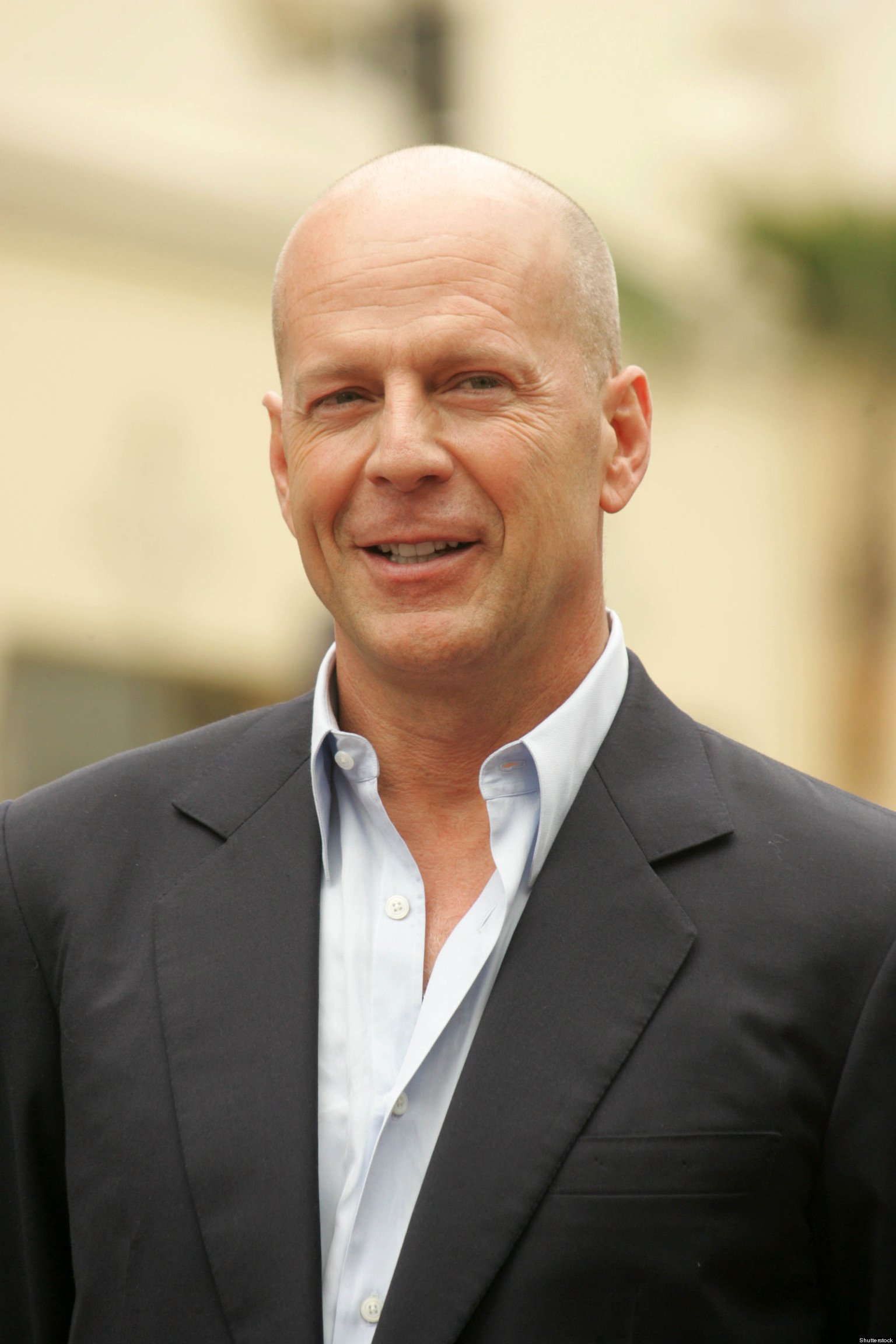 Thank You, Bruce Willis, For Making Bald Beautiful | HuffPost Bruce Willis