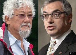 David Suzuki Tony Clement