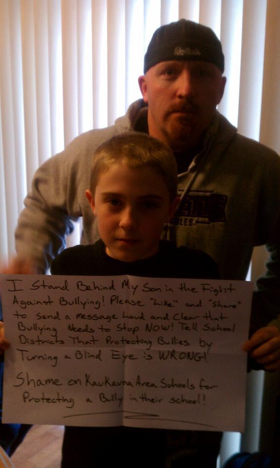 dad bullying facebook