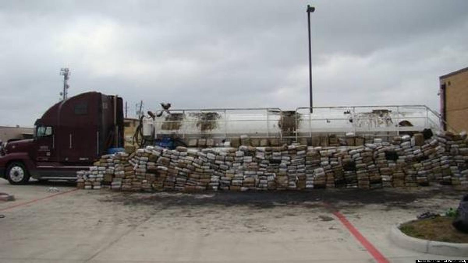 3 9 Tons Of Marijuana Found In  1 Ton Of Weed