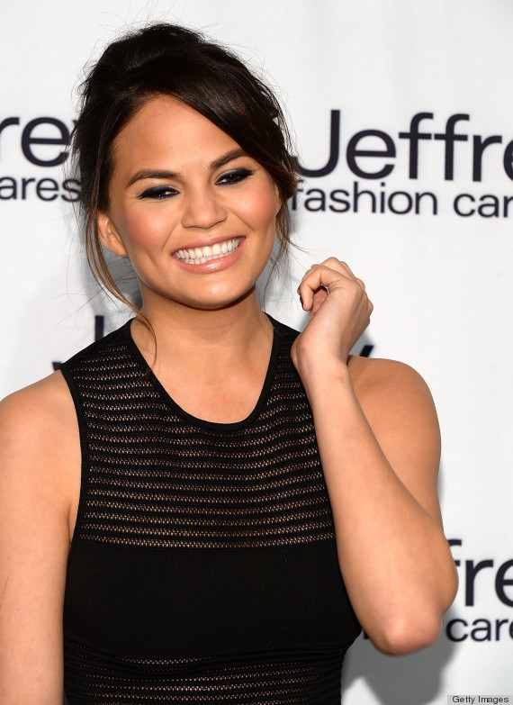 chrissy teigen sheer dress