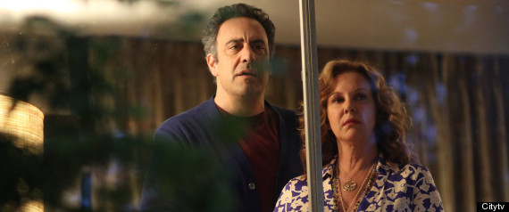 BRAD GARRETT ELIZABETH PERKINS PARENTS