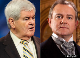 Newt Gingrich Downton Abbey