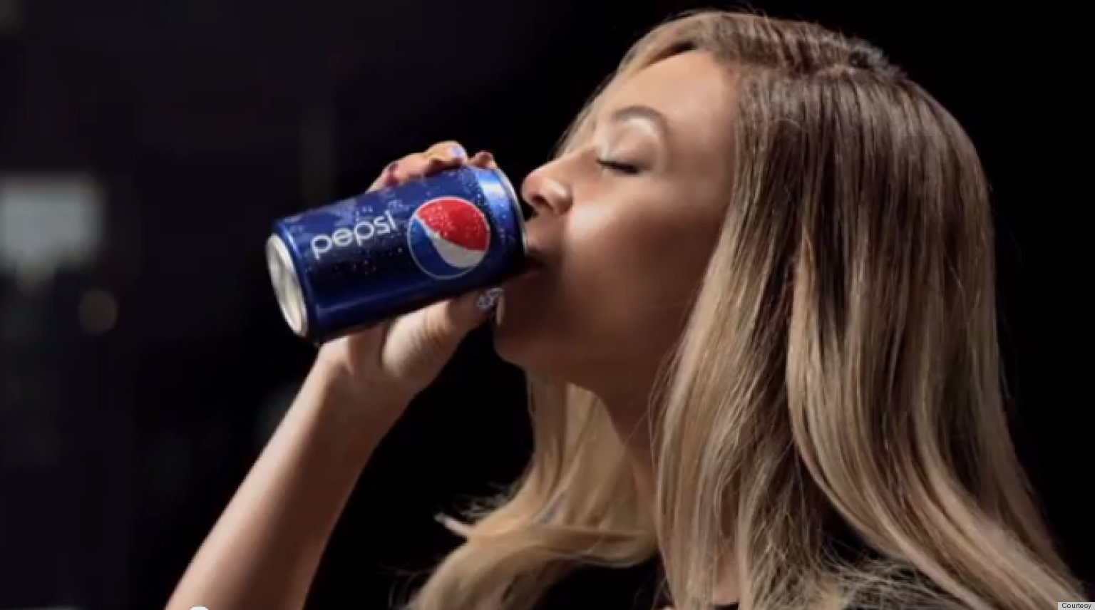 the reinvention of britney spears in the pepsi ad campaign 2004's pepsi ad starring britney spears, beyonc├â┬⌐, & pink may be the most epic super bowl spot ever — see 15 times celebs scored in game day ads  this new campaign ad proves .