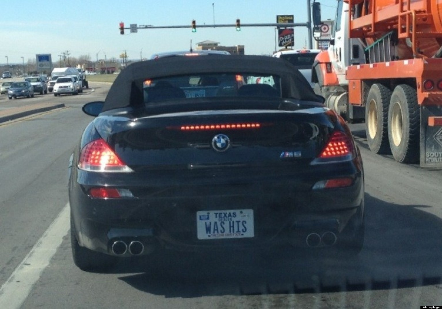 Car Tags: Funny License Plate: Texas Woman Shows Off What She Got In