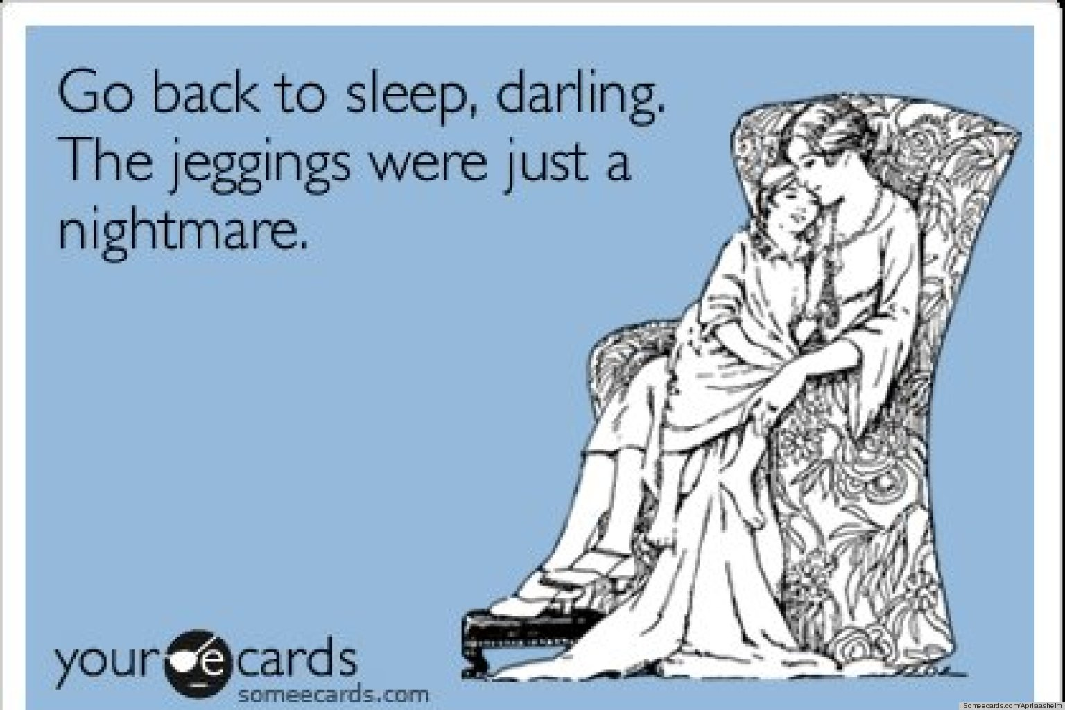 Funny Fashion E-Cards On Uggs, Jeggings And More (PHOTOS ...