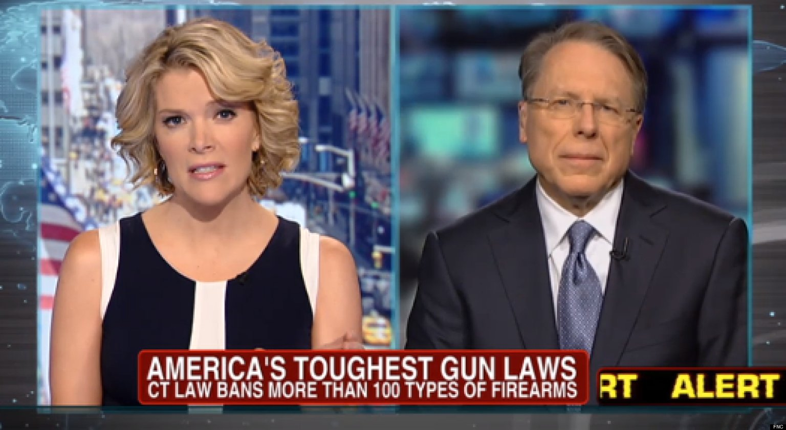 Megyn Kelly Questions Wayne Lapierre Over Limiting