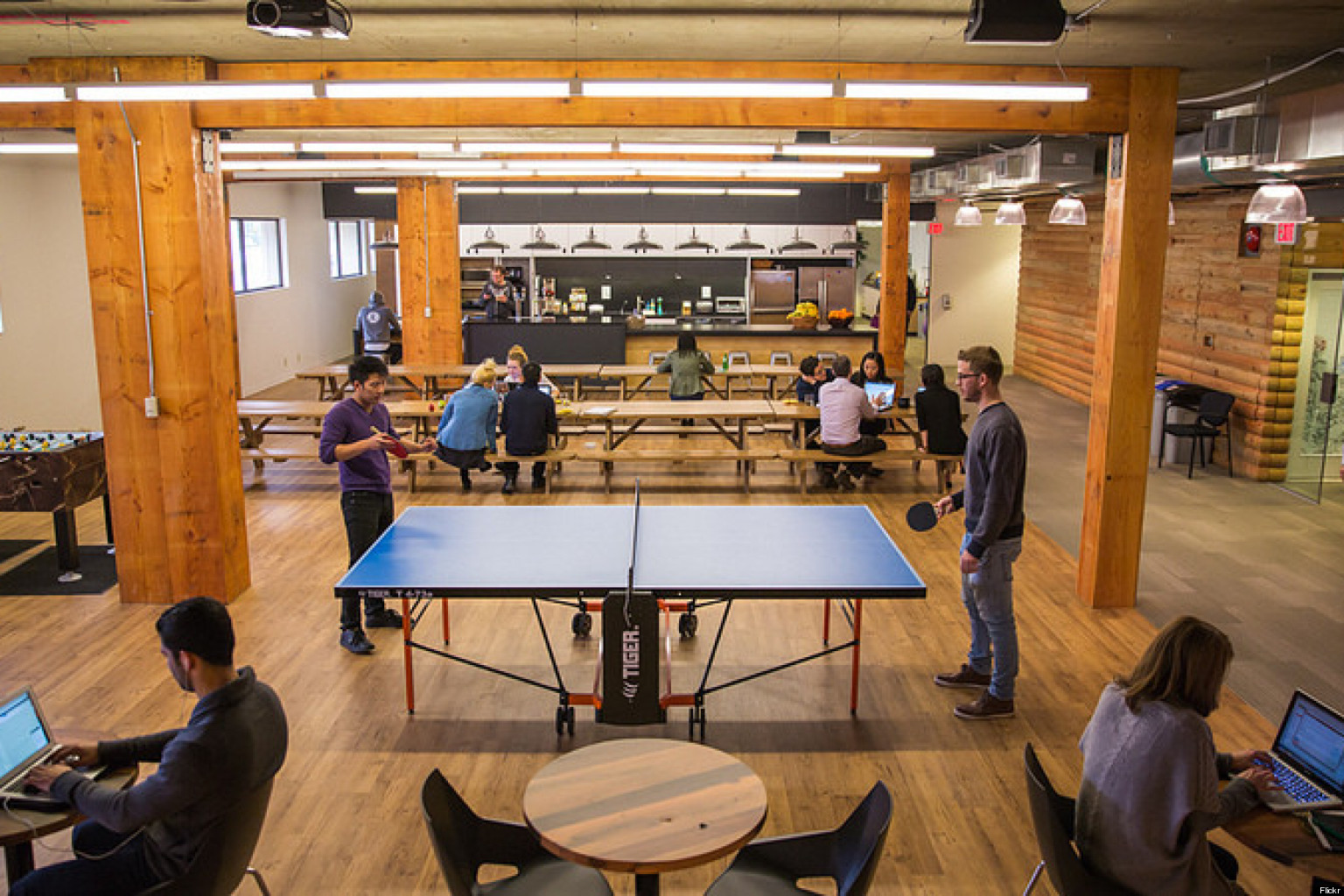 Hootsuite Vancouver Office Boasts Beer Nap Room Photos