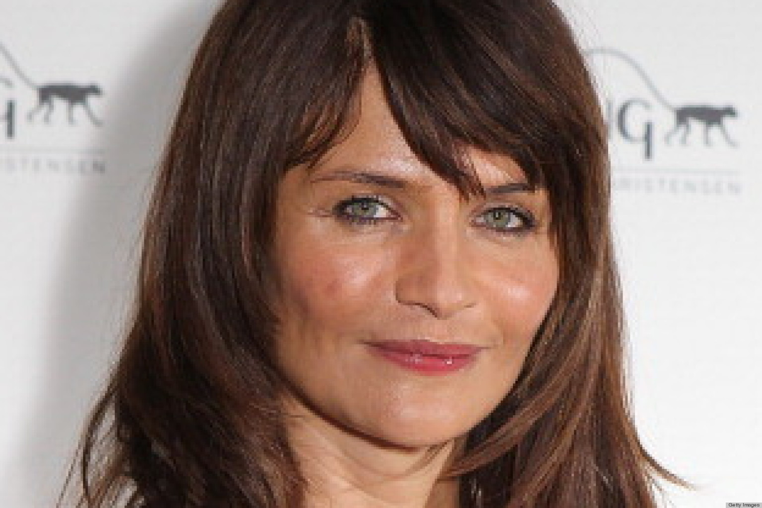 Tips: Helena Christensen, 2018s Bun hair style of the beautiful friendly  model