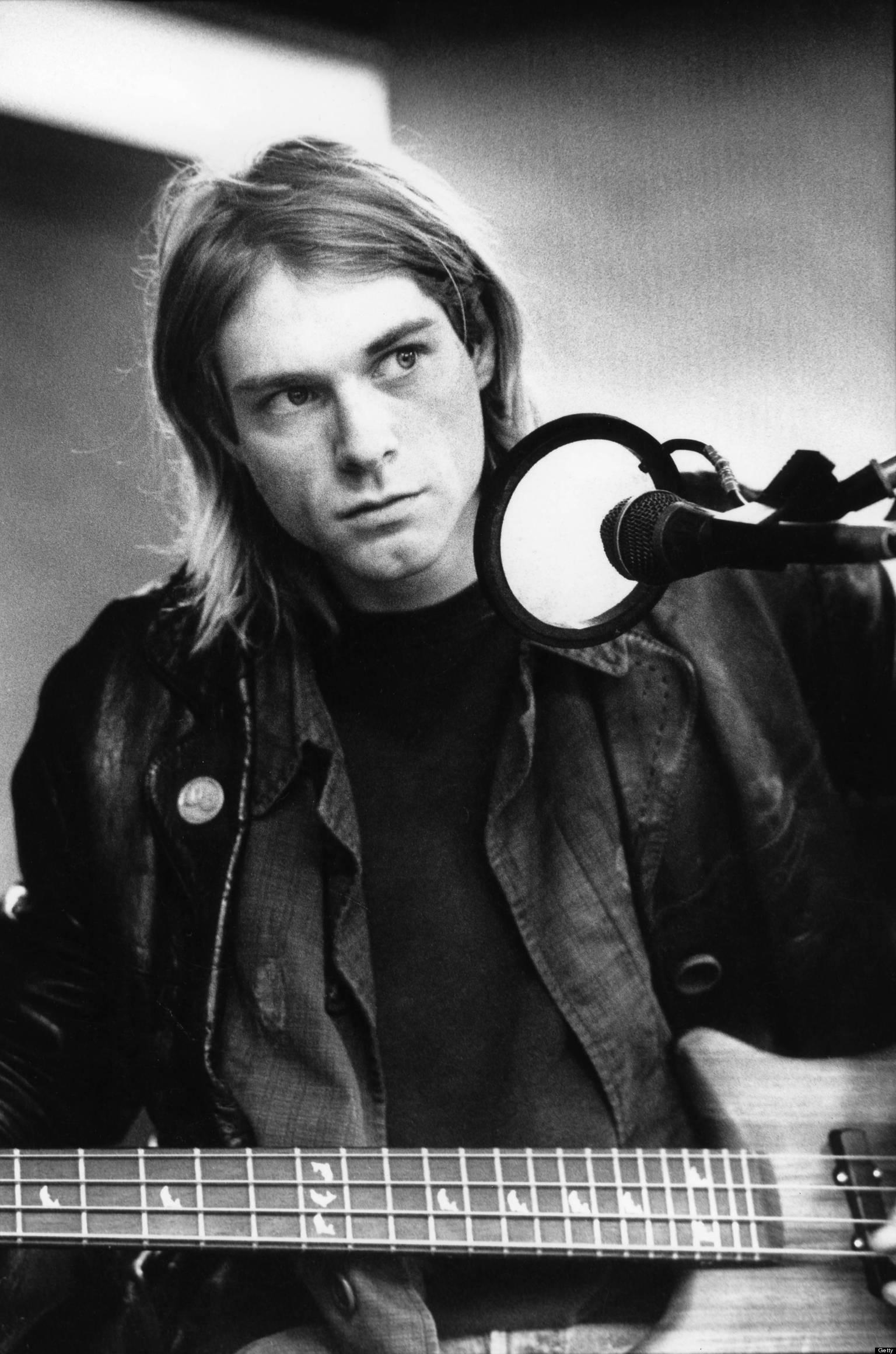 Kurt Cobain Dead Anniversary Nirvana Singer