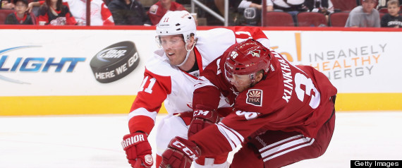 COYOTES RED WINGS