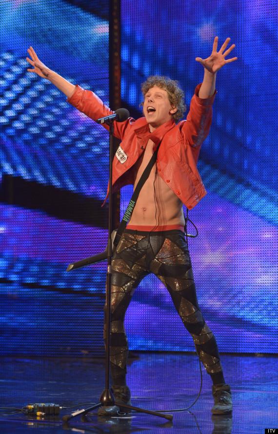 'Britain's Got Talent': Dutch Eighties Fanatic Maarty ...