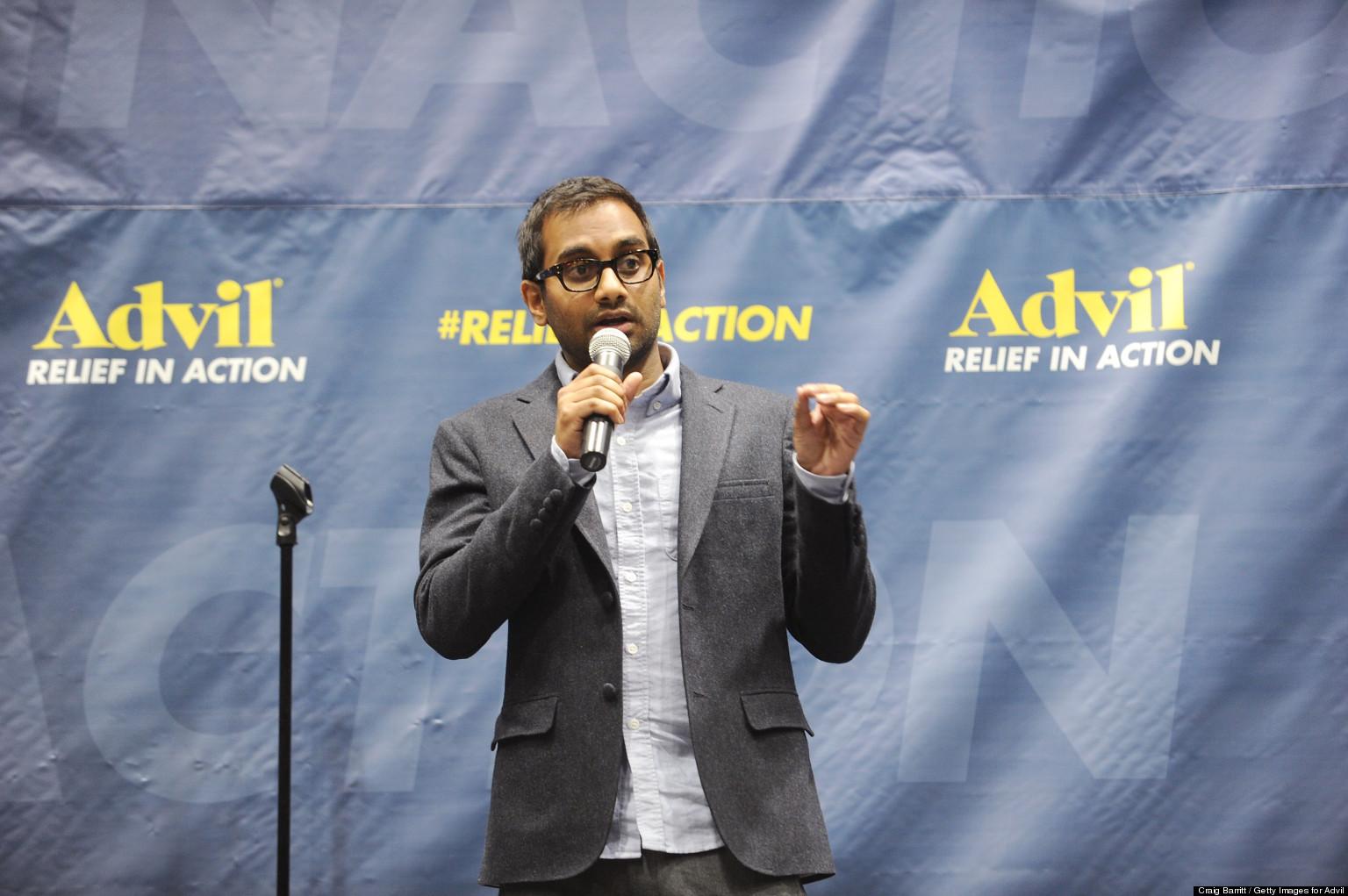 Aziz Ansari Harris