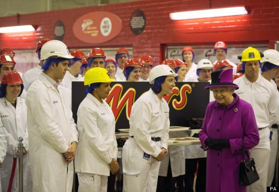 queen chocolate factory