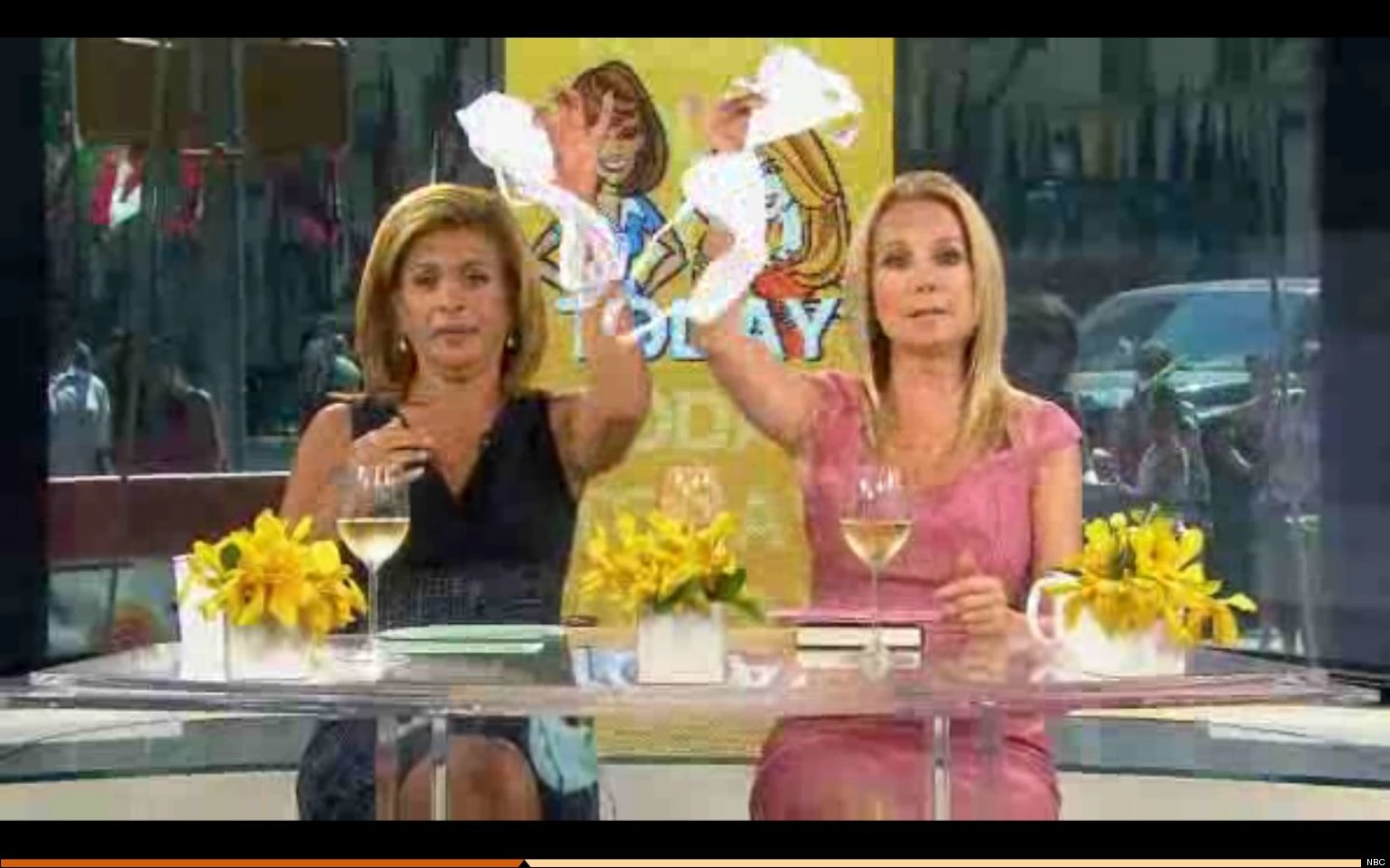 Hoda and Kathie Lee Gifford