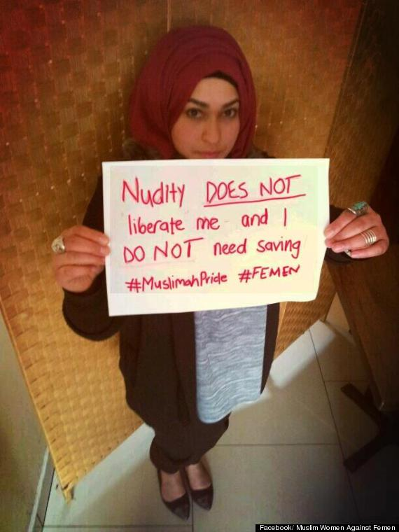 muslim women against femen