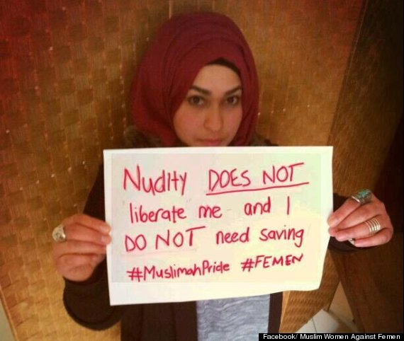 Hijab nude muslim women naked in public something