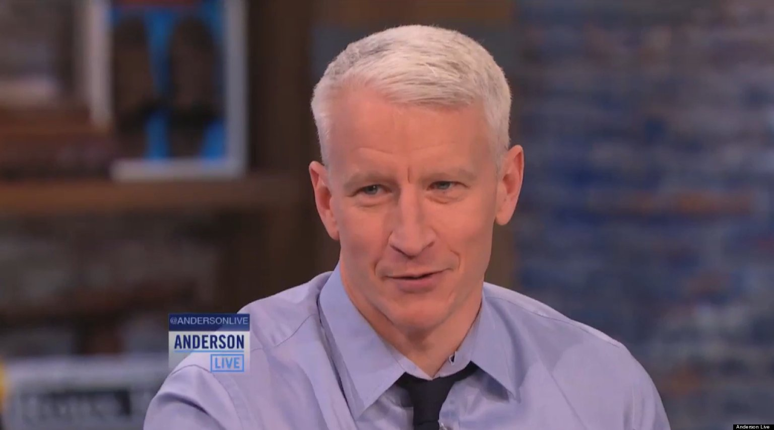WATCH: Anderson Cooper Reveals Childhood Crush