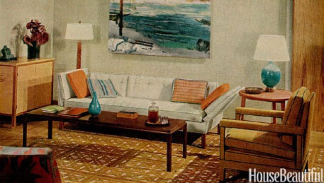 1960s interiors inspired by mad men from house