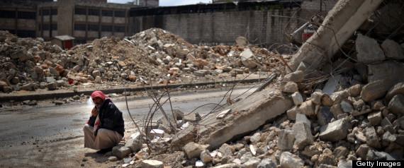 ALEPPO AIRSTRIKE SYRIA