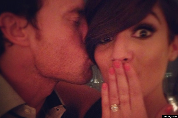 frankie sandford engaged
