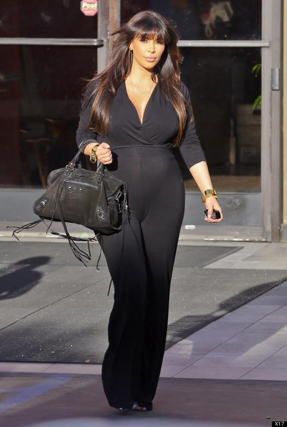 Kim Kardashian Photos: Reality Star Flaunts Baby Bump In ...