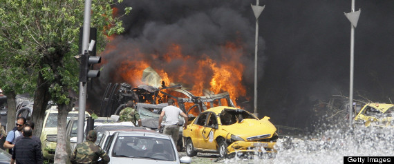 DAMASCUS SUICIDE BOMBING