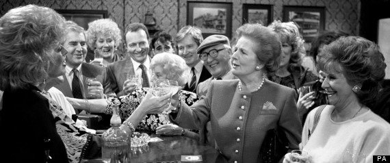 Margaret Thatcher Coronation Street