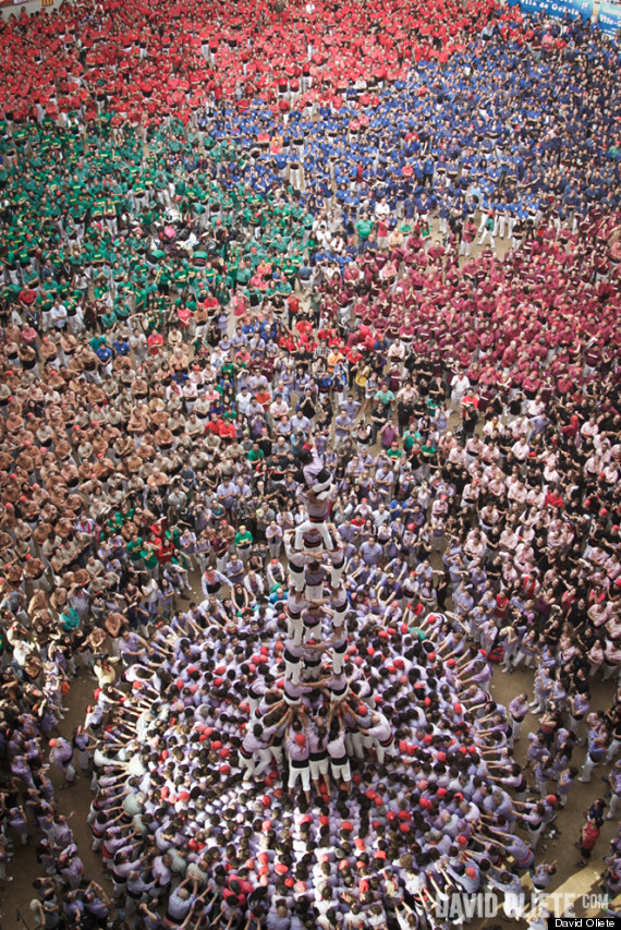 human tower competition