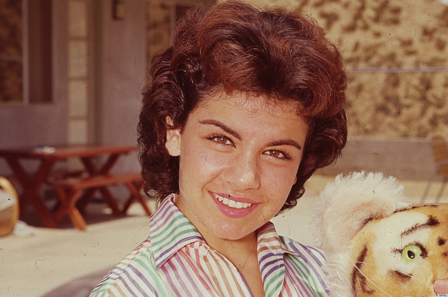 PHOTO: Annette Funicello's Poolside Look