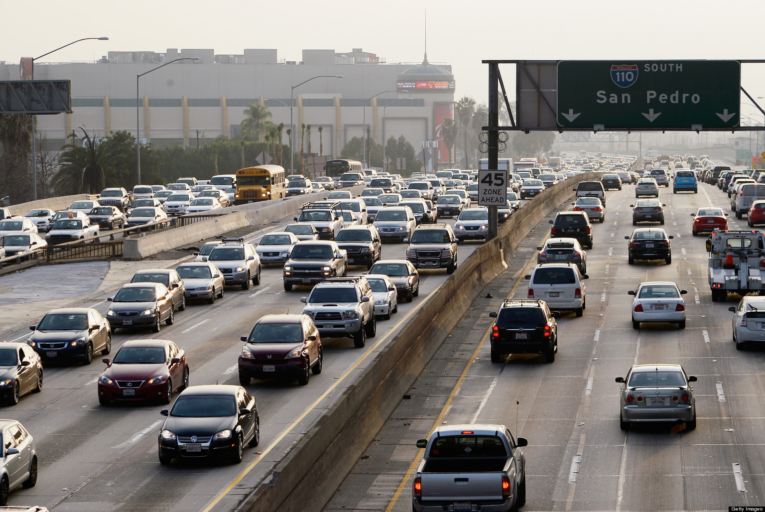 Air Pollution From Traffic Linked With Childhood Cancer
