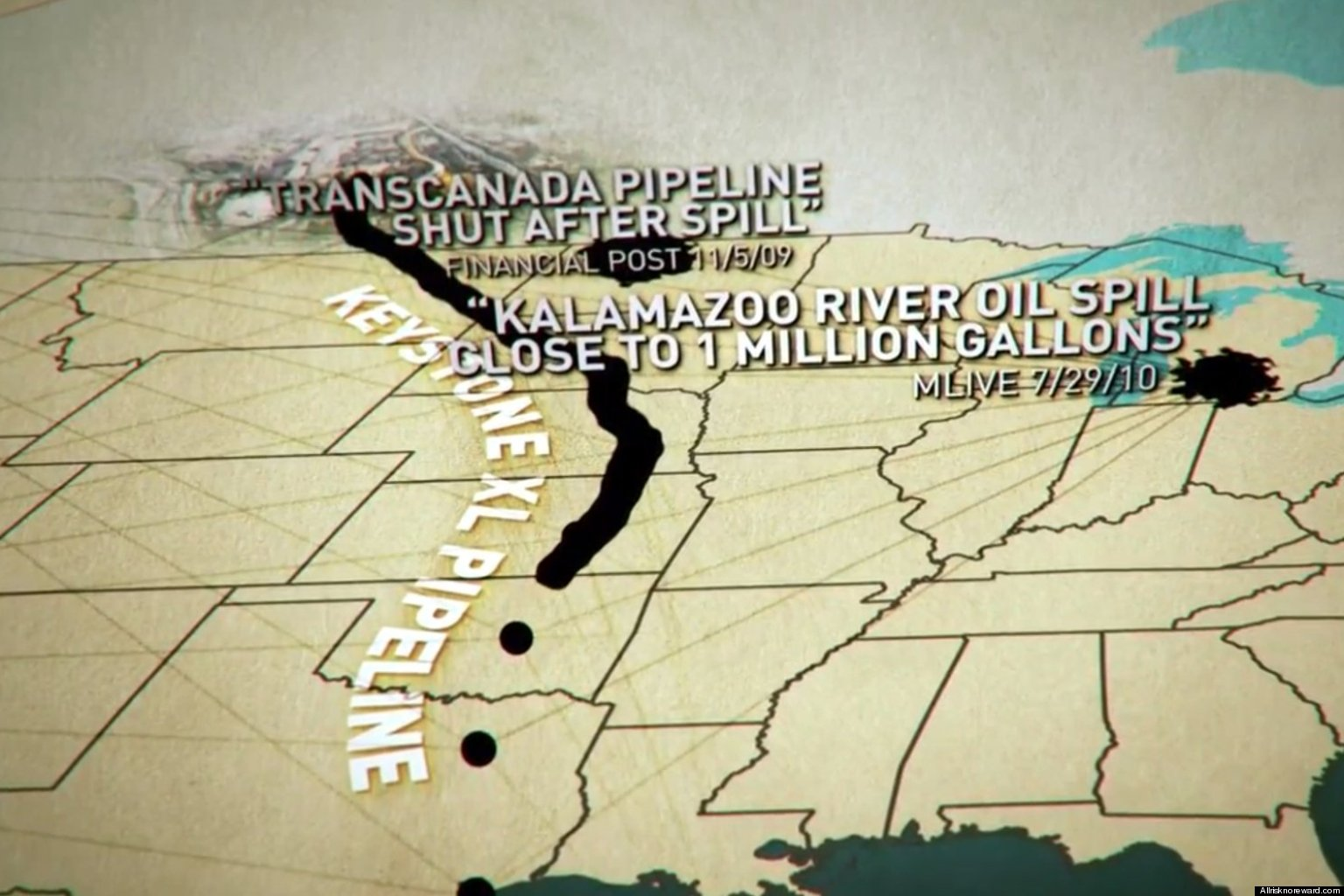 WATCH: Keystone XL War Heats Up